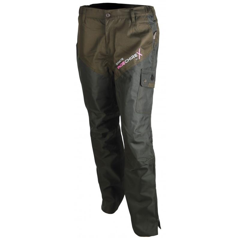Pantalon fuseau indechirex pour femme