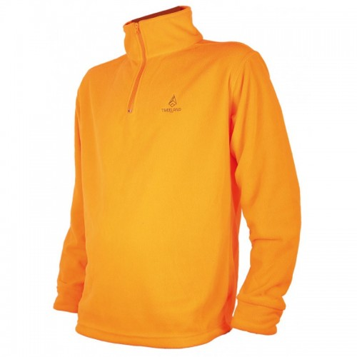 Sweat polaire orange pour enfants