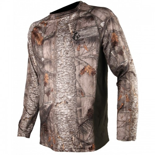 Tee-shirt manches longues spandex camo 3DX