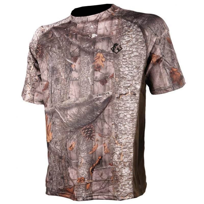 Tee shirt Spandex camo 3DX