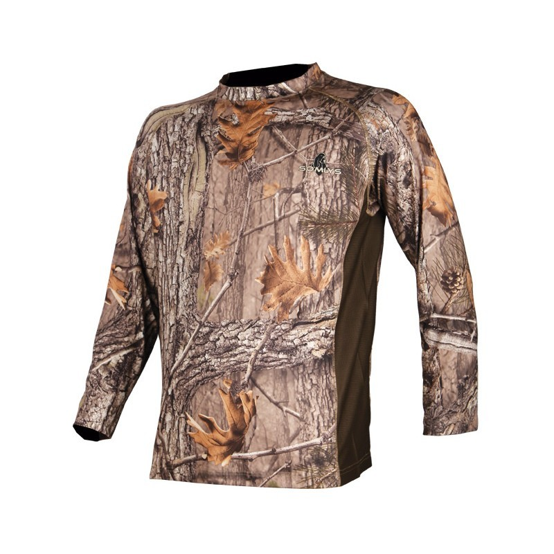 Tee shirt manches longues camouflage 3DX