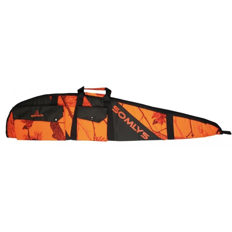 Fourreau camouflage orange