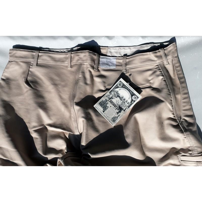 Pantalon largeot moleskine à passants Le Laboureur taille 36