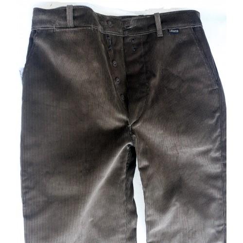 Pantalon droit velours à passants Le Laboureur taille 42