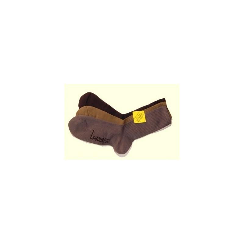 Lot de 3 paires de chaussettes sans bord comprimant LE LABOUREUR