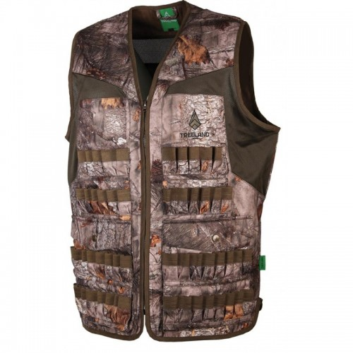GILET MULTITUBES CAMOUFLAGE FOREST