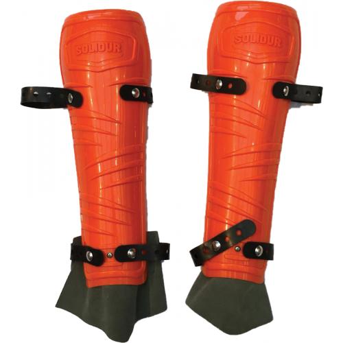 Protège tibia pro coloris orange