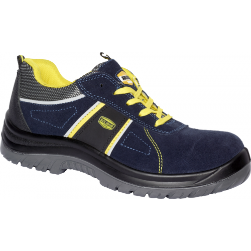 Chaussure de sécurité basse sans partie métal Airlow bleu