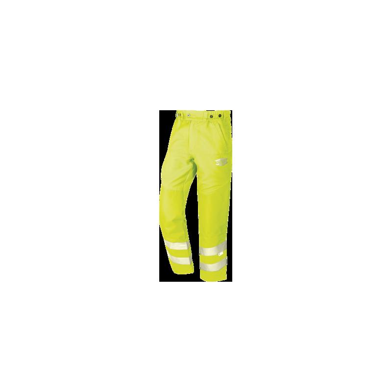 Pantalon de débroussaillage haute visibilité