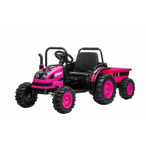 Tracteur électrique POWER avec remorque pour Enfant