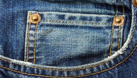 petite poche du jeans