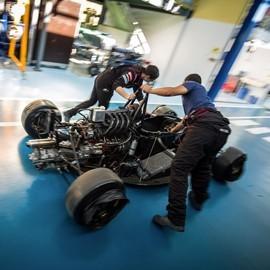 Mécanicien karting