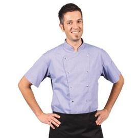 Veste de cuisine homme manches courtes