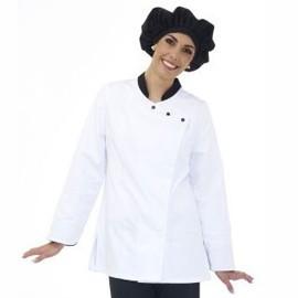 Veste de cuisine femme manches longues