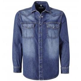 Blousons, chemises en jeans