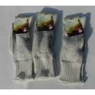 Lot de 3 paires de chaussettes beiges